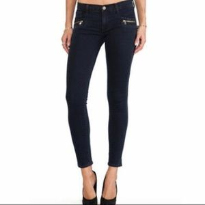 Hudson Chimera Super Skinny Ankle Zip Jeans